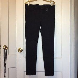 NWOT Rewash black Stretch skinny jeans